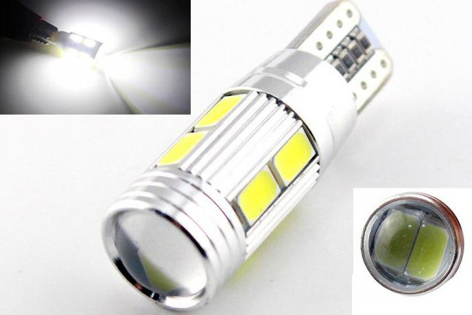 Габаритная светодиодная лампа W5W 1Н+1,5Н