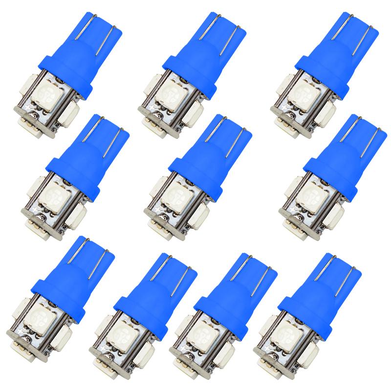 Габаритная светодиодная лампа W5W 5SMD