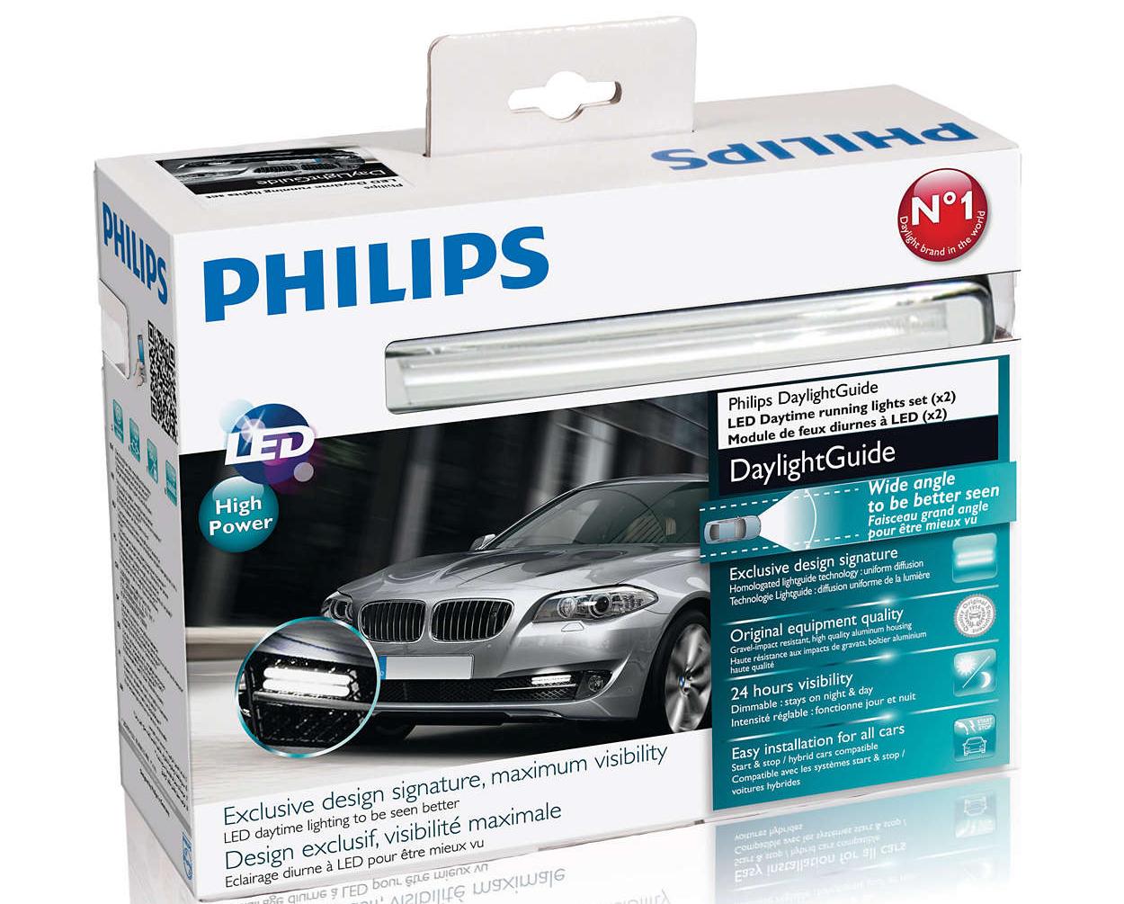 Светодиодная лампа Philips DayTime Lights-Guide