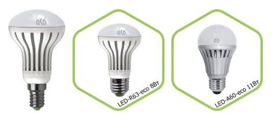 Светодиодная лампа ASD Electric LED-R Econom