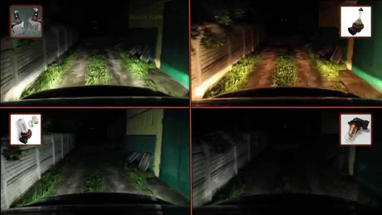 LED ФАРЫ - светодиоды против галогенок