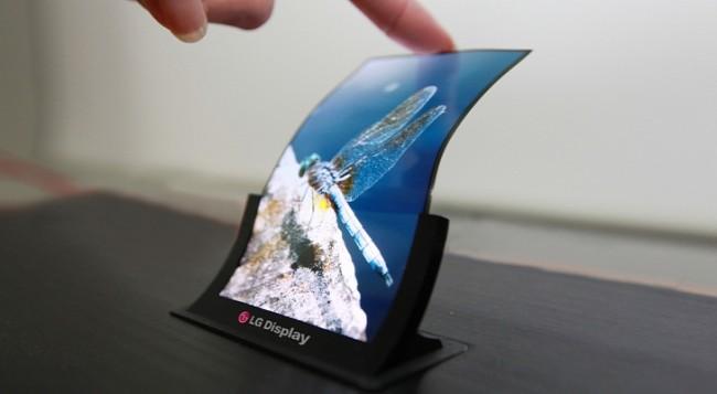LG начала массовое производство гибких OLED-дисплеев для смартфонов