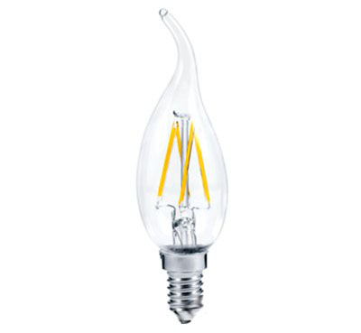 Led 360 Filament прозрачная нитевидная свеча