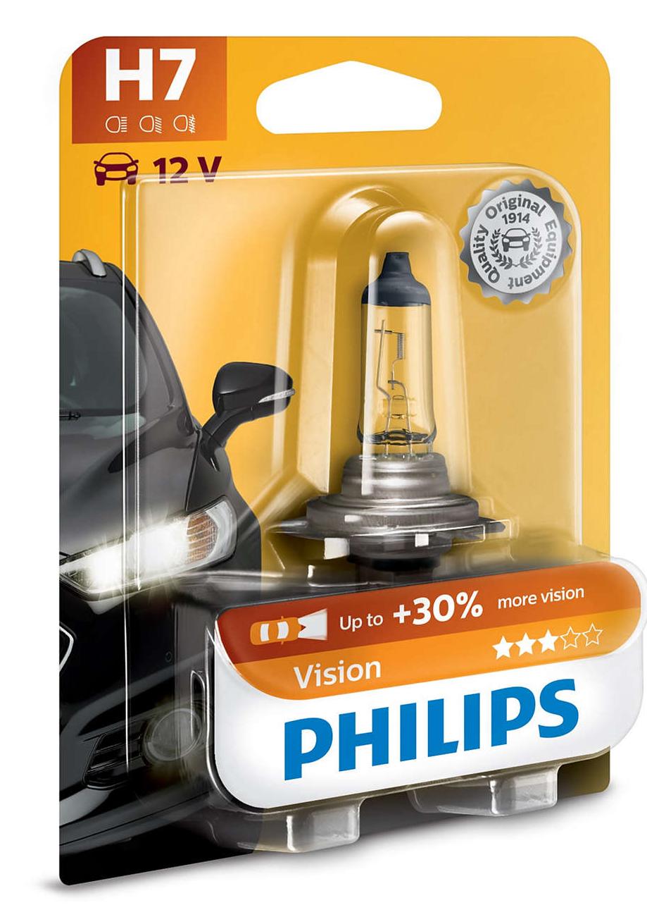 Светодиодная лампа PHILIPS Vision Н7