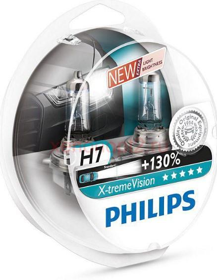 Светодиодная лампа PHILIPS X-Treme Vision +130 % H7