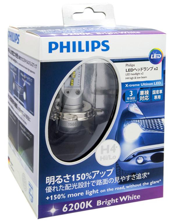 Светодиодная лампа H11 Philips X-TremeUltinon