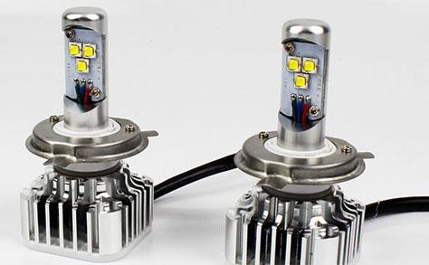 Автомобильные лампы с цоколями h4, h7