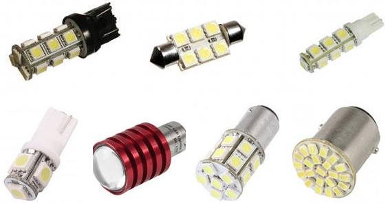 Автомобильные светодиодные лампы