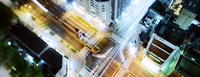 Экогород (Smart City) - группа светильников
