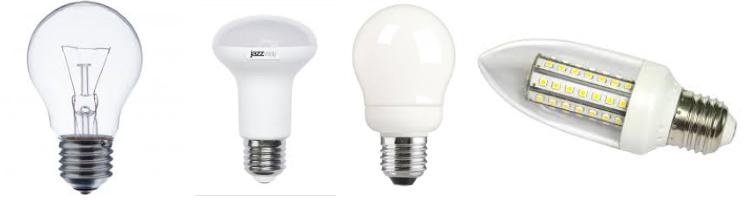 Лампы с цоколем Е27