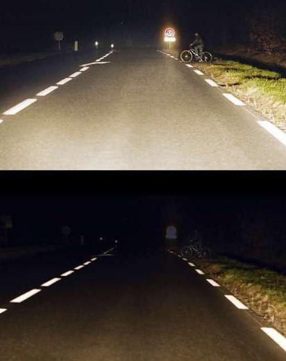 Как на практике выглядит использование фар с лампами H11
