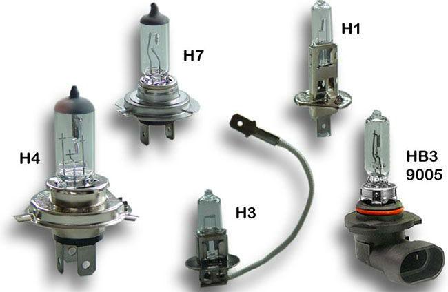 Конструктивные отличия ламп с разным цоколем