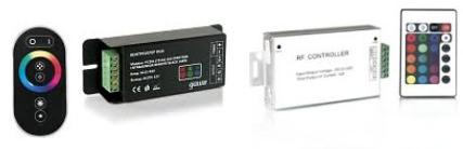 Контролеры с системой управления лентой RGB