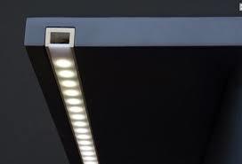 Короб под светодиодную ленту с оптическими линзами