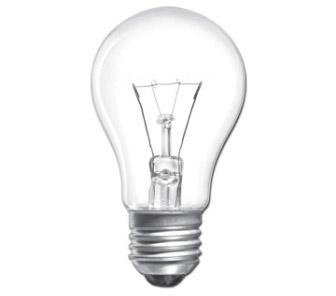 Лампа накаливания ЛОН 40вт A60 230в E27
