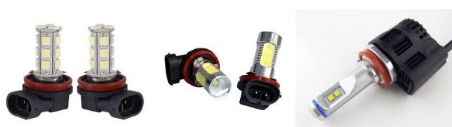 Автомобильные лампы h11