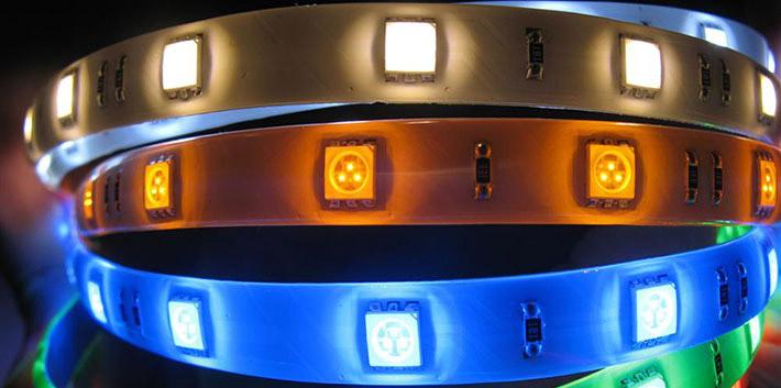 Цветные источники SMD 5050