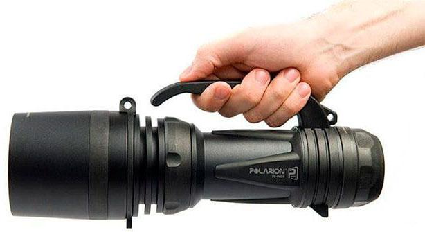 Мощный аккумуляторный светодиодный фонарь