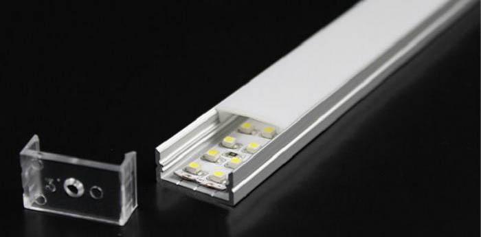 Профили для полосок из светодиодов