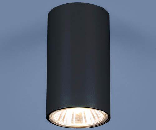 Один из стильных примеров оформления GU10 BK черный
