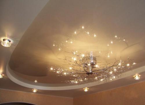 Потолочная светодиодная люстра для дома
