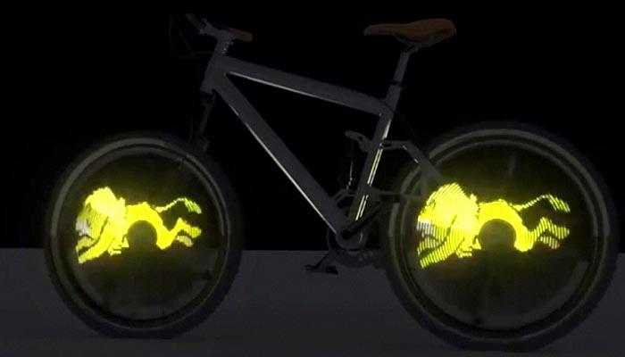 Подсветка для велосипеда HaloWheel