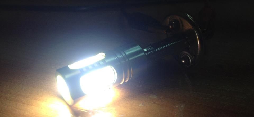 Пример свечения лампы с температурой 5000К