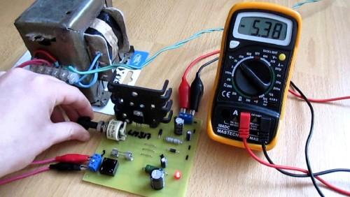 Стабилизатор тока на lm317