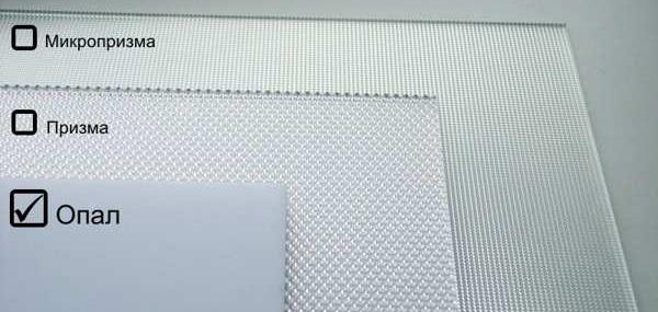 Разновидности акрилового стекла со светопропускной способностью от 60 до 90%