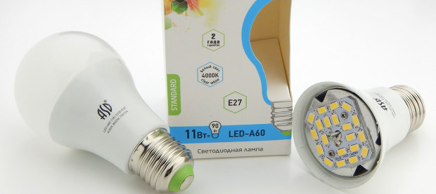Светодиодные лампы ASD Electric A60