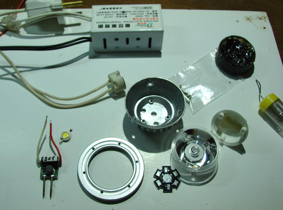 Светодиодные лампы для автомобиля своими руками
