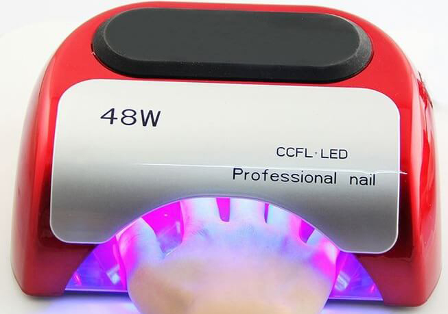 Сушка ногтей в led лампе