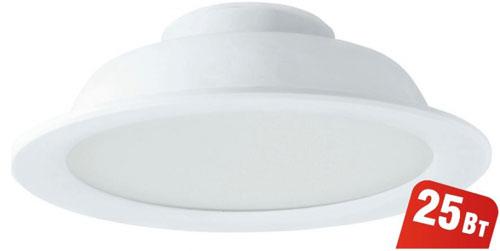Светильник Navigator 94 838 NDL-P1-25W-840-WH-LED