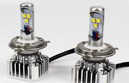 Мощные светодиодные лампы для автомобиля