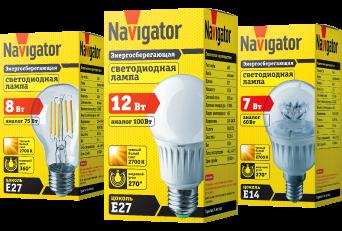 Светодиодные лампы Navigator