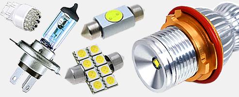 Светодиодные лампы для авто разных марок