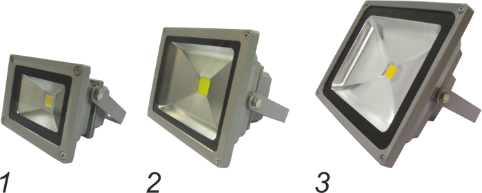 Светодиодные прожекторы (степень защиты IP65)
