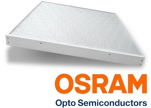 Встраиваемый светодиодный светильник Армстронг SL/R Osram LED 595 x 595