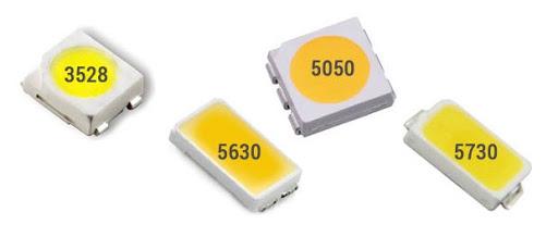 SMD 3528, 5050, 5630 и 5730