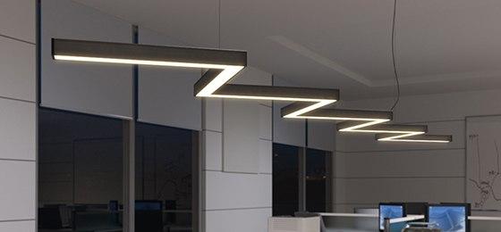 светильник в офисе